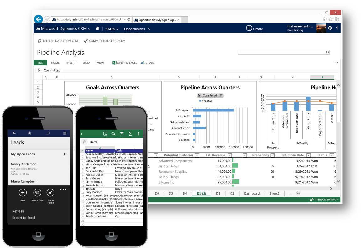 Plantillas Excel y Word para reporting