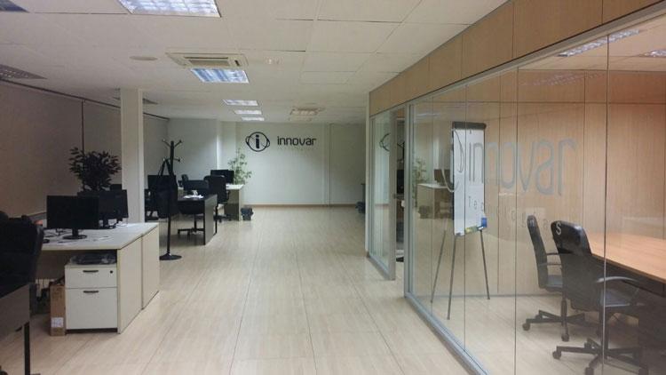 Oficinas Innovar Tecnologías Barcelona