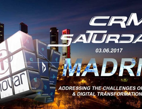 Innovar patrocina CRM Saturday Madrid